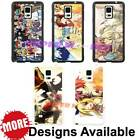 Fairy Tail Manga Anime TPU Case Cover for Samsung Galaxy Note & S6 Edge Plus +