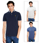 Brave Soul Glover Mens Polo Shirt New Designer Button Down Contrast Collared Top
