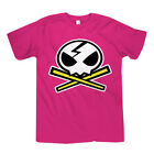 Gurren Lagann Movie Edition Yokos Skull T-Shirt Pink