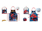 BOYS KIDS SPIDERMAN 2 PIECE CHEF COOK BAKING GIFT SET INCLUDES APRON AND HAT