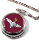 Parachute Regiment Full Hunter Pocket Watch (Optional Engraving)