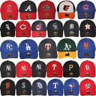 47 Brand MLB Logo Team Colors MVP Strapback Adjustable Baseball Dad Hat Cap NWT