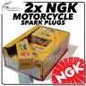 2x NGK Spark Plugs for HONDA 125cc CB125T (2/B/D-C/d/D-E) 82->88 No.7423