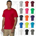 Gildan Mens Heavy Cotton T-Shirt with a Pocket Plain Pocket Tee S-3XL - 5300 image