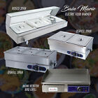 Electric Stainless Steel Food Bain Marie Food Warmer Display/ Electric BBQ Grill