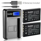 FNP60 Battery or LCD Slim Charger for KODAK EasyShare DX7590 Zoom, LS420, LS433
