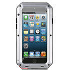 Waterproof Shockproof Metal Phone Case Cover Protective Glass for iPhone Samsung