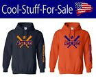 Houston Astros Baseball Pullover Hooded Sweatshirt on Ebay