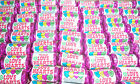 MINI LOVE HEARTS 100 RETRO ROLLS WEDDING SWEETS CANDY UK MADE