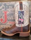 Justin Men's Stone Age Bent Rail Western Boots BR 760