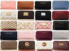 Michael Kors Jet Set Travel Flat Large Multifunction Smartphone Coin Wallet