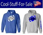 Detroit Lions Football Pullover Hooded Sweatshirt on eBay