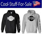 San Antonio Spurs Basketball Pullover Hooded Sweatshirt on eBay