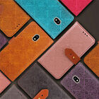 For SAMSUNG J730 European Version2017 Luxury Flip Cover Wallet Card Leather Case
