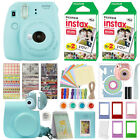 Fuji Instax Mini 9 Fujifilm Instant Camera All Colors + 40 Film Deluxe Bundle