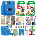 Fuji Instax Mini 9 Fujifilm Instant Camera All Colors + 40 Film Deluxe Bundle <br/> ATTRACTIVE ACCESSORY KIT! Case - Frames - Album + More!