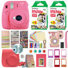 Fuji Instax Mini 9 Fujifilm Instant Camera All Colors 40 Film Deluxe Bundle