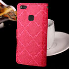 For HUAWEI P10 Lite Luxury European Style Flip Cover Wallet Card Leather Case