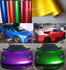 All Sizes - Full Car Satin Matte Metallic Chrome Vinyl Wrap Sticker Sheet Film A