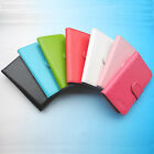 For STK Smartphone-Folder Flip Folio PU Leather Case Cover
