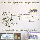 DUMBO STICKER WALL CHILDRENS QUOTE
