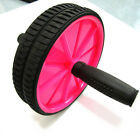 Dual ABS Abdominal Roller Wheel Workout Training Fitness Gym Exercise 5 Colors