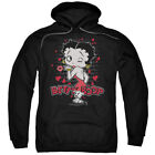 Betty Boop Classic Kiss Pullover Hoodies for Men or Kids $37.3 USD
