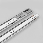 Ultra-quiet 12-20 inch Drawer Slides Rail Telescopic Steel Drawer Runners 1 pair