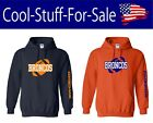 Denver Broncos Football Pullover Hooded Sweatshirt $35.69 USD on eBay