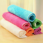 1 Pc Highly Bamboo Fiber Kitchen Hand Towel IN Stock Dish Cloth Rags Set PR