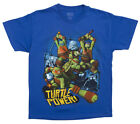 Teenage Mutant Ninja Turtles Turtle Power Blue T-Shirt