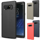 For Samsung Galaxy Note 8 Thin Shockproof Rugged Leather Defender TPU Case Cover