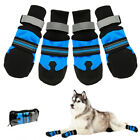 Large Dog Shoes Boots Booties for Snow Winter Waterproof Reflective Anti-slip