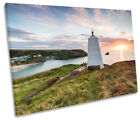 Pepper Pot Portreath Cornwall Print CANVAS WALL ART Picture Framed