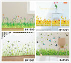 Flowers Feet Lines Home Room Decor Removable Wall Stickers Decals Wandbilde