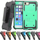 Внешний вид - Shockproof Hybrid Hard Armor Holster Case Stand Clip Cover For iPhone 7 8 Plus