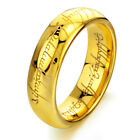 Lord of the Rings The One Ring Lotr Titanium Steel Fashion Men's Ring Size 7-12