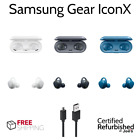 Samsung Gear Iconx Icon X In-ear Wireless Fitness Earbuds Headphones Black Blue