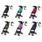 GB Pockit Stroller W/Free Stroller Hook  - Black, Capri Blue, Red, Khaki, Navy