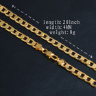 UK GOLD 16&#039;&#039; - 30&#039;&#039; SNAKE CURB Belcher BOX 1MM to 6MM NECKLACE CHAIN <br/> UK TOP RATE SELLER 18K MARK Various Length Width Choice
