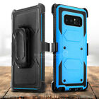 For Samsung Galaxy Note 8 Case with Belt Clip Holster Rugged Shockproof Cover