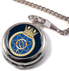 HMS Explorer Full Hunter Pocket Watch