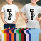 Enderman Kids Fun T-Shirt Girls Boys Gamers Children Minecraft DanTDM-UME101