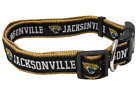 Jacksonville Jaguars Dog Collar - SMALL - Nylon - NFL Pets First. - NWT $10.99 USD on eBay