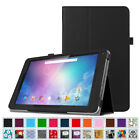 PU Leather Case Folio Stand Cover for Dragon Touch V10 10-Inch Android Tablet