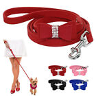 Bling Rhinestone Dog Leads Pet Cat Puppy Leash Bowknot Cute for Chihuahua Yorkie