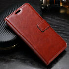 VINTAGE THIN PU LEATHER FLIP WALLET COVER BACK CASE FOR LENOVO VIBE P2