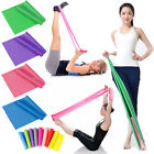 Resistance Bands Stretch Elastic Fitness Rubber Equipment Yoga Exercise Pilates