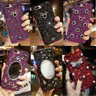 Luxury Bling Glitter Diamonds Jewelled Hard Case Cover For iPhone X 6S 7 8 Plus