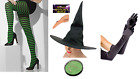 Wicked Witch Witches Adult Sorcerer Halloween Fancy Dress Costume Accessories